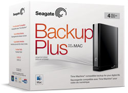 Seagate Backup Plus for Mac Desktop Drive