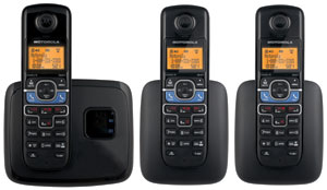 Mototola L703BT DECT 6.0 Cordless Telephone with Bluetooth Linking