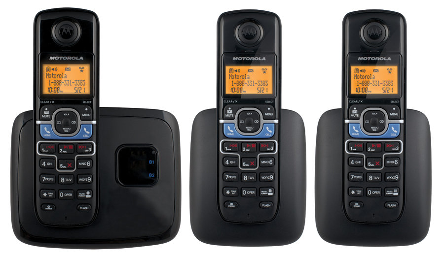 Cordless telephone with mobile Bluetooth link lets you kick back