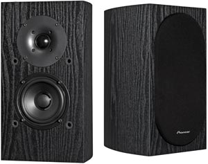 Pioneer SP-BS22-LR Andrew Jones Deigned Bookshelf Loudspeakers