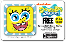 CTA Digital SpongeBob SquarePants Universal Activity Tray for iPad