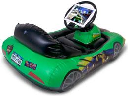 CTA Digital Teenage Mutant Ninja Turtles Inflatable Sports Car for iPad
