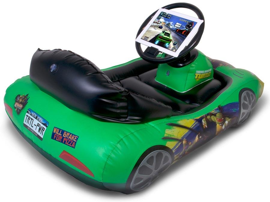 Teenage Mutant Ninja Turtles Inflatable Sports Car For