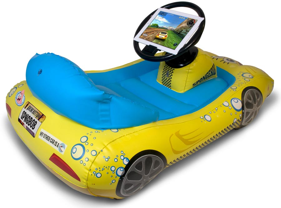 Amazon.com: SpongeBob SquarePants Inflatable Sports Car for iPad