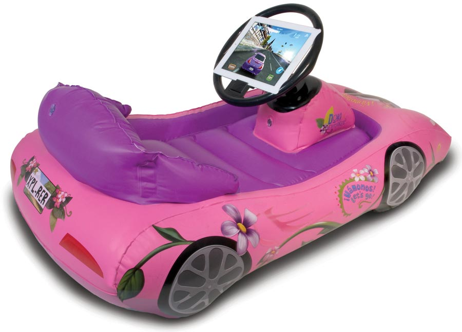 Amazon.com: Dora the Explorer Inflatable Sports Car for iPad: Toys