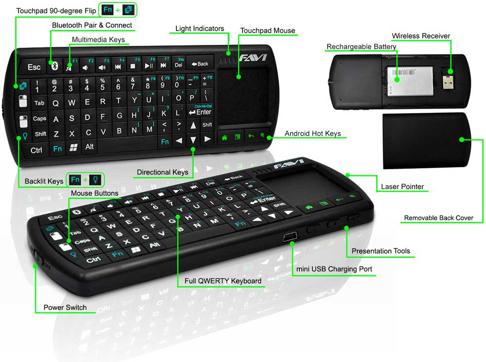how to connect bluetooth keyboard to fire tv