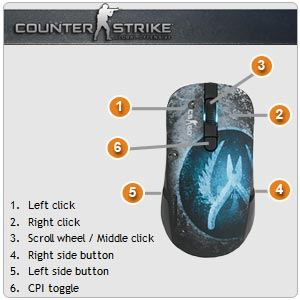 Kana CounterStrike: Global Offensive Edition by SteelSeries