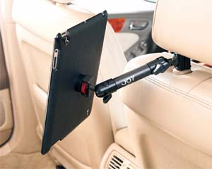 The Joy Factory Valet Headrest Mount with MagConnect