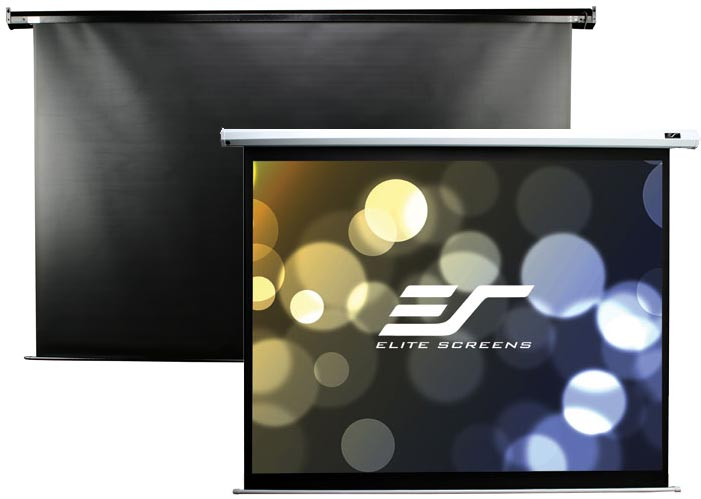Elite screens electric100h spectrum electric projector for 100 inch motorized projector screen