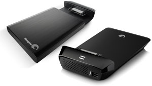 how to connect seagate backup plus to ipad