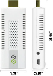 FAVI HDTV SmartStick with Android Apps (Built-in Wi-Fi)