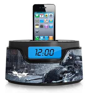 Sakar Batman iPod Clock Radio Dock
