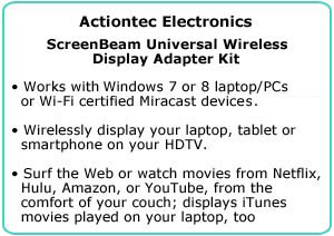 ScreenBeam Universal Wireless Display Adapter Kit