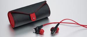 Phiaton Moderna MS 200 Half In-Ear Carbon Fiber Earphones
