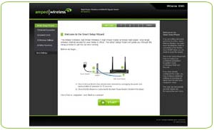 Amped Wireless: Easy Setup Software
