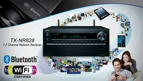 Onkyo Built-in Wifi and Bluetooth THX AVR
