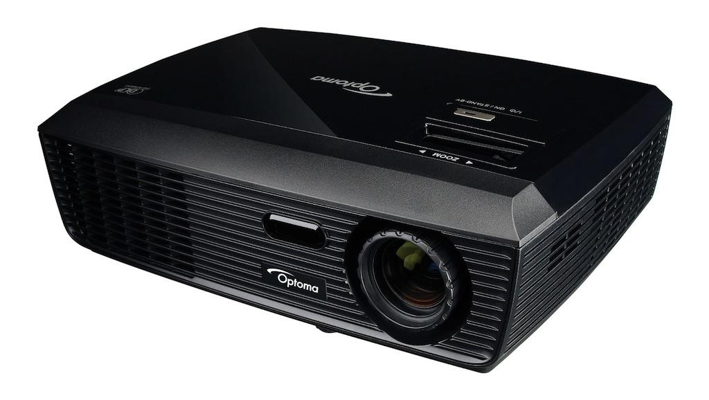 Optoma dx326 xga 2800 lumen full 3d dlp for Small powerful projector
