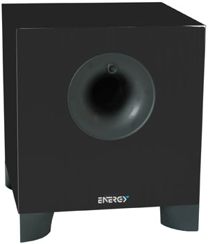 200-watt Subwoofer speaker included with the Energy 5.1 Take Classic System