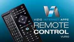 VIZIO Internet Apps remote control graphic