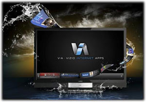 VIZIO Internet apps (VIA) graphic