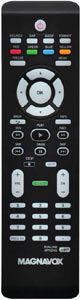 Remote control included with the Magnavox 26MF330B 26-Inch 720p LCD HDTV