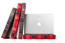 B003CJYE44 4 Twelve South BookBook, 13 inch Hardback Leather Case for 13 inch MacBook Pro, Red