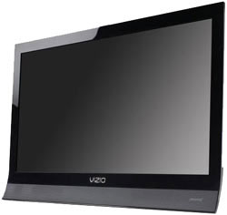 Front view of the VIZIO M220VA 22-inch Full HD 1080p LED backlit LCD HDTV