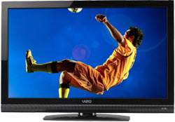 Front view of the VIZIO E420VA 42-inch full HD 1080p LCD HDTV