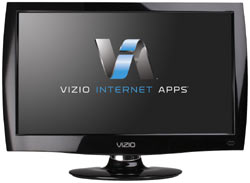 Front view of the VIZIO M220NV 22-inch Full HD 1080P RazorLED LCD HDTV