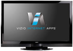 Front view of the VIZIO XVT423SV 42-inch full 1080p TruLED LCD HDTV