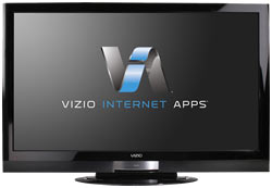 Front view of the VIZIO XVT373SV 37-inch Full HD 1080P RazorLED LCD HDTV