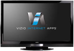 Front view of the VIZIO XVT553SV 55-Inch 240Hz TruLED LCD HDTV