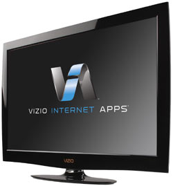 Front view of the VIZIO M470NV 47-inch RazorLED LCD HDTV