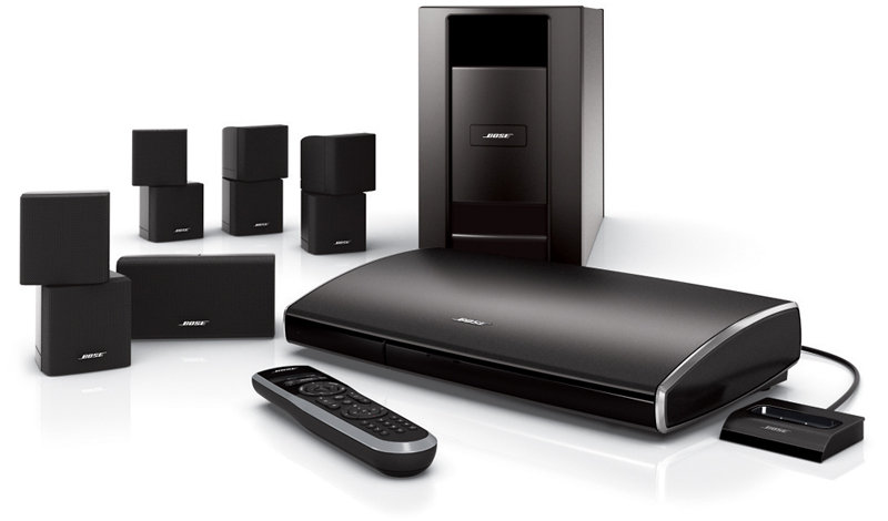 bose lifestyle v25 home theater system with sl 2 wireless. Black Bedroom Furniture Sets. Home Design Ideas