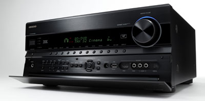 Onkyo TX-NR1008 9.2-Channel Network A/V Receiver side view with access panel open
