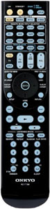 RI remote controller included with the Onkyo TX-NR3008 9.2-Channel Network A/V Receiver
