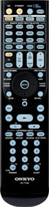 RI remote controller included with the Onkyo TX-NR5008 9.2-Channel Network A/V Receiver
