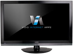 Front view of the VIZIO M261VP 26-inch Full HD 1080P RazorLED LCD HDTV