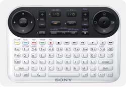 Sony NSZ-GT1 Keypad