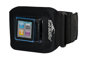 The Amphibx Fit Waterproof Armband for the iPod nano 6th Gen, iPod shuffle's and other small MP3 Players