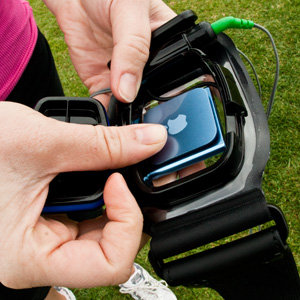 Amphibx Fit Waterproof Armband is Quick and Simple to Load