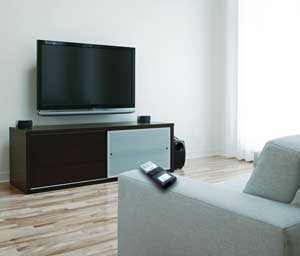 This is a picture of the ARRX15G on a sofa