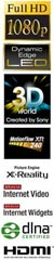 Sony HDTV Feature Logos