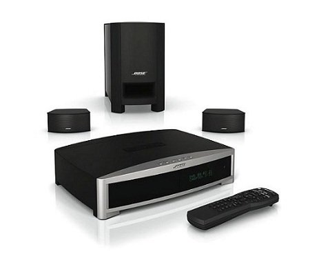 GS Series III DVD Home Entertainment System - Graphite