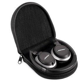 Bose OE2 headphones fold flat