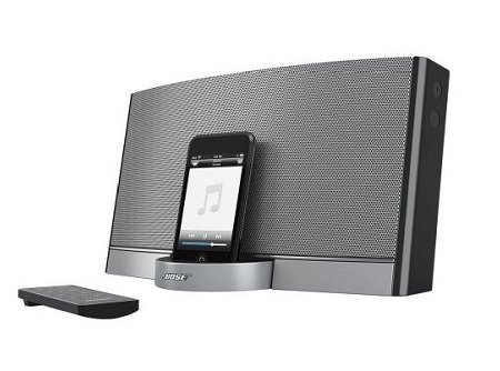 new bose sounddock portable ipod iphone speaker system remote control ebay. Black Bedroom Furniture Sets. Home Design Ideas