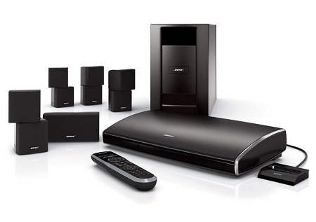 Bose Lifestyle V25 home entertainment system.