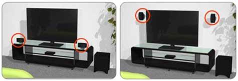 adjustable speakers