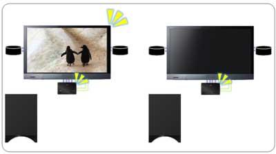 3D sound TV remote