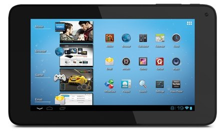 Coby KYROS MID7048-4 Tablet: Movies, games, email, and more